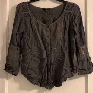 3/4 sleeved blouse from American eagle